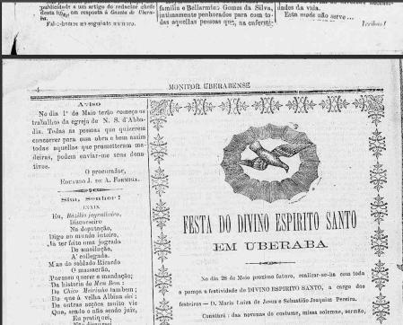 abadia no jornal