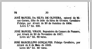 dicionario aristocratico jose manuel
