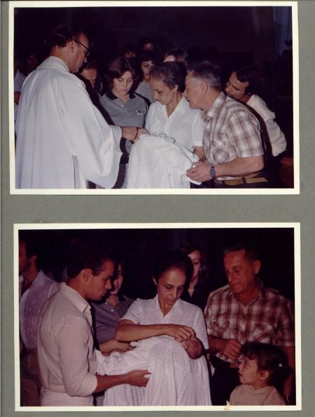 Batizado do Neto, do Leci