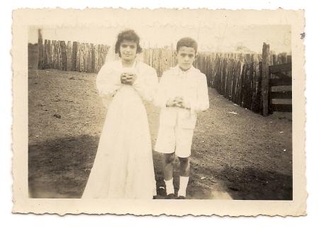 Roberto e Suzana, filhos do Dóro e netos do boiadeiro