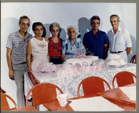 80 anos da Dona Esmeralda