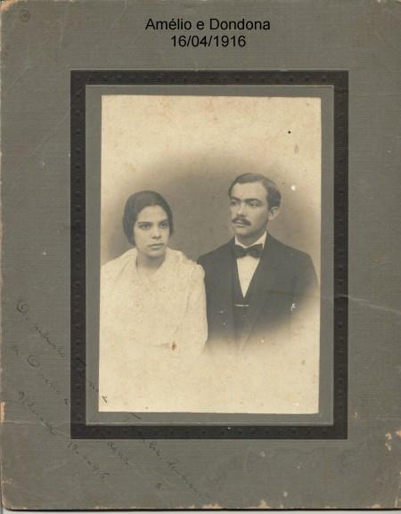 Amélio e Dondona