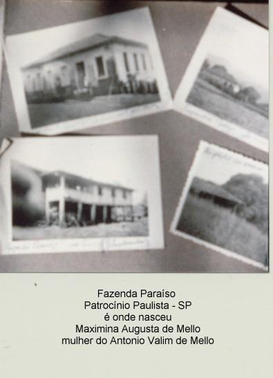 Casa onde nasceu Vovó Maximina