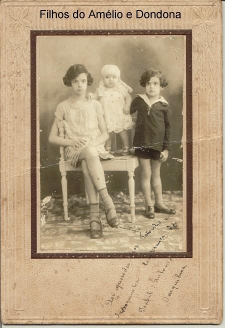 Filhos do Amélio e Tia Dondona