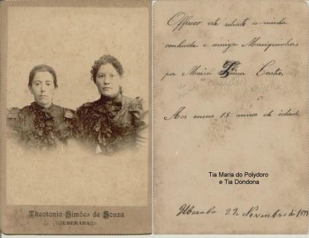 Tia Mariquinhas do Polydoro e Tia Dondona