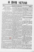 O Bom Senso, MG, 1852, ed. 46 -1, p. 1 de 4